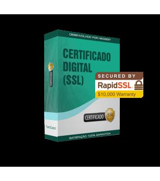Certificado Digital Rapid SSL para PrestaShop