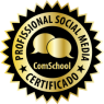 Certificado Social Media ComScholl